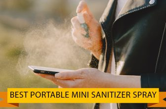 Best Portable Mini Sanitizer Spray for Hand Sanitizing, Office, Home