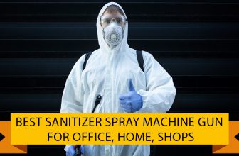 Best Sanitizer Spray Machine Gun for office Alcohol Based Liquid