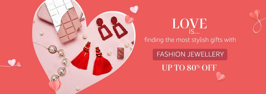 Fashion Jewellery for Valentine's Day