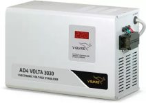 High Voltage Fluctuations Stabilizer for Ac