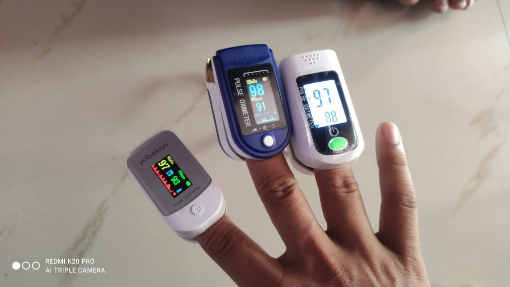 Readings of an Oximeter