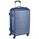 American Tourister Cruze Spinner Polyester 55 cms Blue Hardsided Suitcase