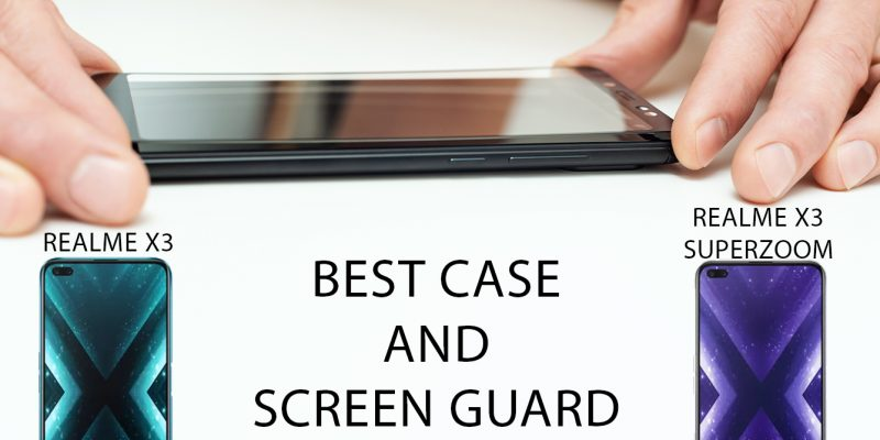 Best Case and Screen Guard for Realme X3 And Realme X3 SuperZoom