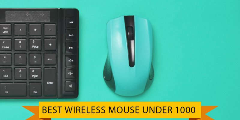 8 Best Wireless Mouse Under 1000 in India With High DPI (01 October 2021)