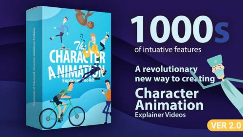 Character Animation Explainer Toolkit With After Effects
