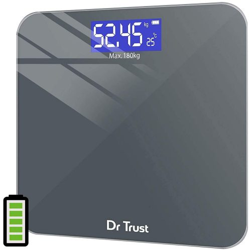 Dr Trust Electronic Platinum Rechargeable Digital Weighing Scale