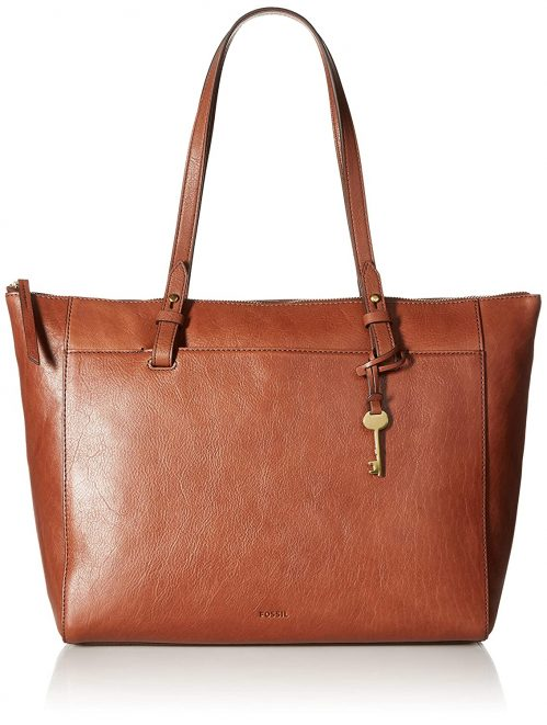 Fossil Women's Rachel Tote Leather Top-Handle Bag