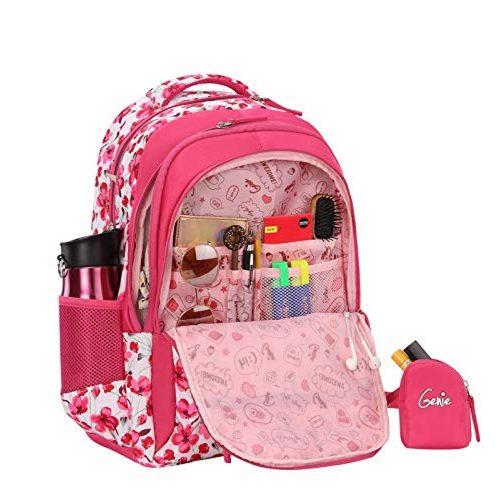 Genie Camellia School Bag