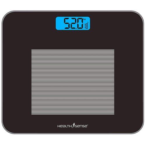 HealthSense Dura-Glass PS 115 Digital Weighing Scale