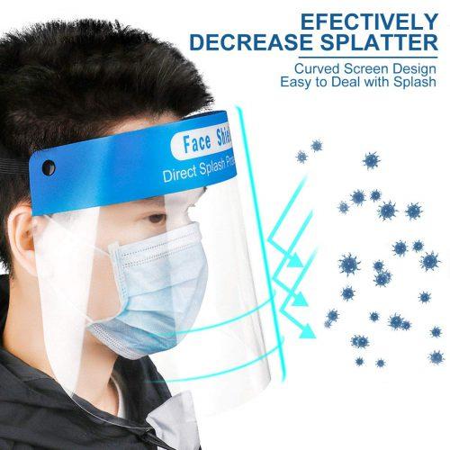 IXO Safety Face Shield, Anti-fog Full Face Shield,