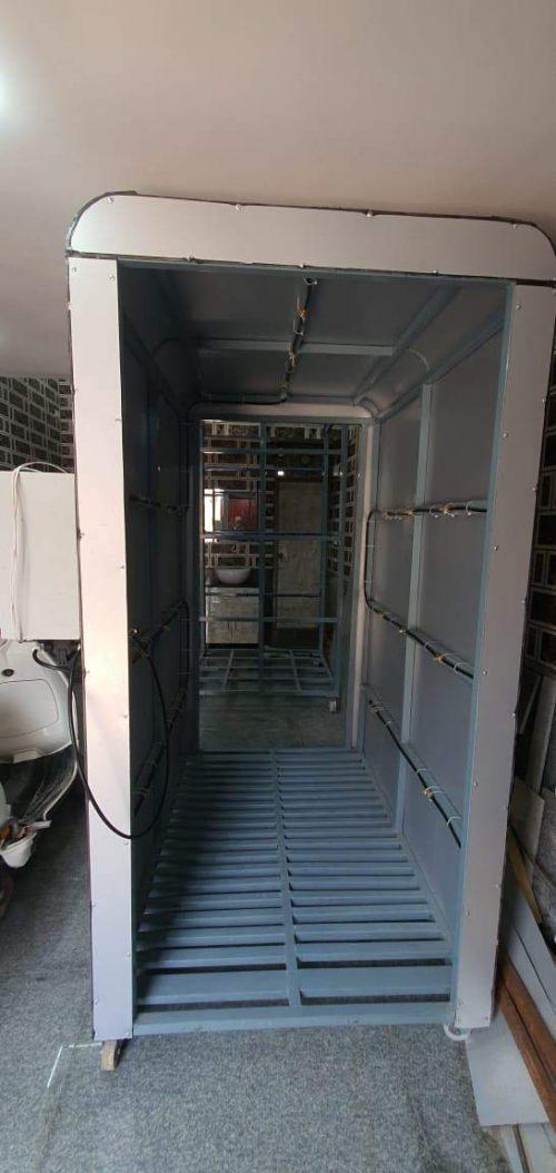 Entrance Sanitizer tunnel