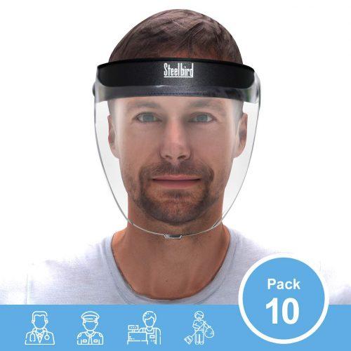 Steelbird SBA-2 7Wings Unisex Helmet Visor Face Shield